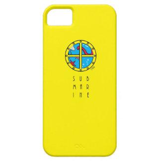 Submarino y animal de mar frescos (dentro) iPhone 5 cárcasas
