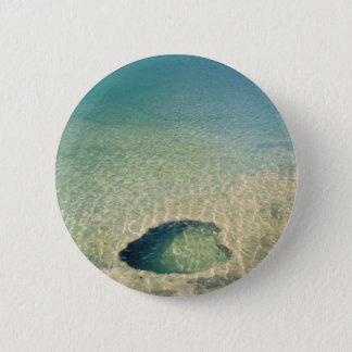 Submerged Geyser Pinback Button