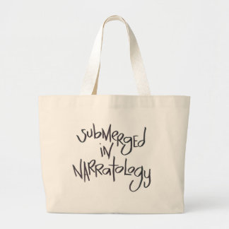 Submerged In Narratology Tote Bags