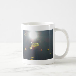 Submerged Leaf Classic White Coffee Mug