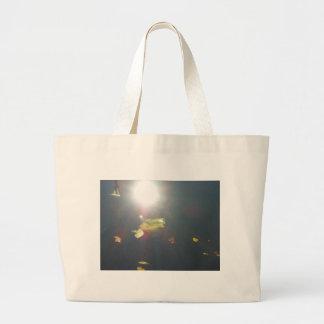 Submerged Leaf Jumbo Tote Bag