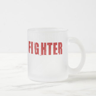 Submission Fighter3 Frosted Glass Coffee Mug