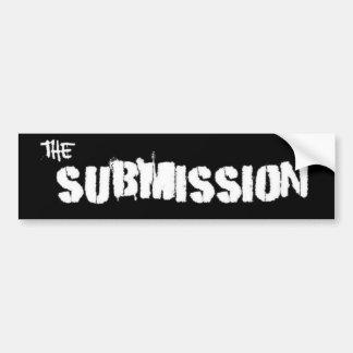 submission Sticker Bumper Sticker