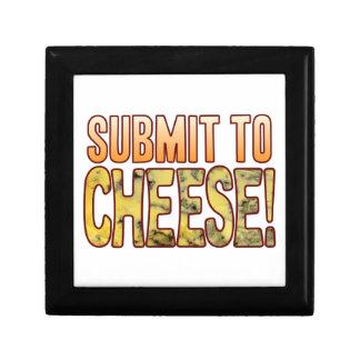 Submit To Blue Cheese Keepsake Box