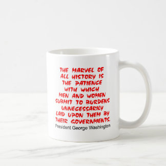 Submit To Burdens Laid On Them By Government Coffee Mug