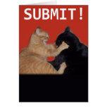 Submit! Valentine Greeting Card