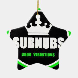 SubNubs_GoodVibrations Ceramic Ornament