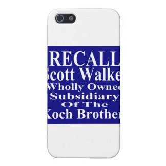 Subordinado corporativo del caminante de Scott del iPhone 5 Carcasa