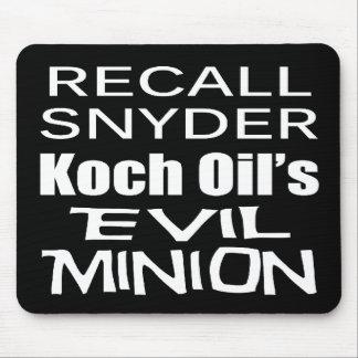 Subordinado corporativo malvado de Rick Snyder del Alfombrilla De Raton