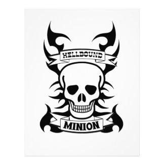 Subordinado de Hellbound Membretes Personalizados