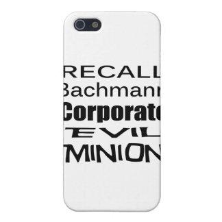 Subordinado malvado corporativo de Micaela Bachman iPhone 5 Cárcasa