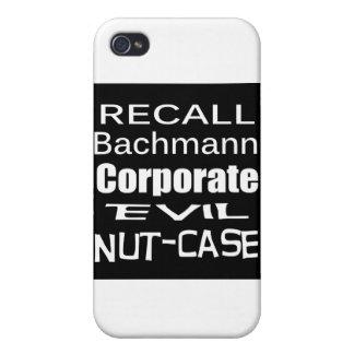 Subordinado malvado corporativo de Micaela Bachman iPhone 4 Protectores