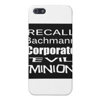Subordinado malvado corporativo de Micaela Bachman iPhone 5 Funda