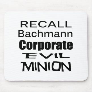 Subordinado malvado corporativo de Micaela Bachman Tapete De Ratones