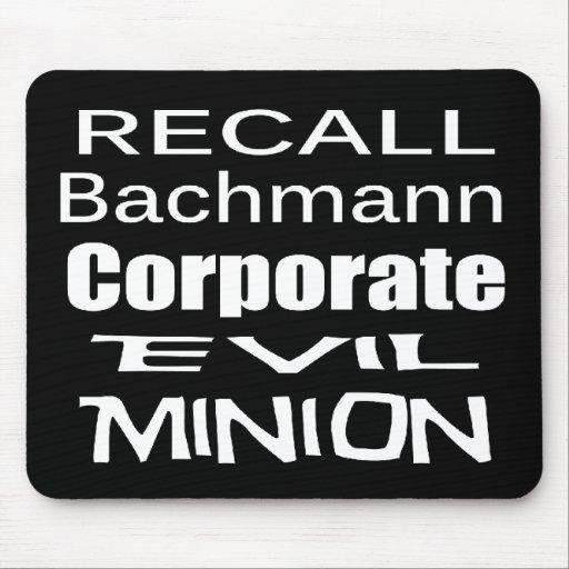 Subordinado malvado corporativo de Micaela Bachman Tapetes De Raton