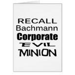 Subordinado malvado corporativo de Micaela Bachman Felicitacion