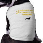 Subordinados del Dachshund Camiseta De Perro