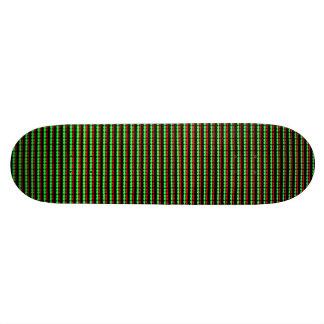 Subpixel Geometry Patterned Skateboard