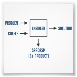 Subproducto del sarcasmo de la ingeniería fotografía