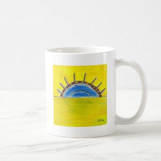 SubQuantum Alphabet: NESHAMA Classic White Coffee Mug