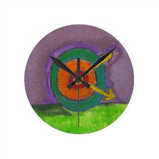 SubQuantum Alphabet: ORGONE Wall Clock