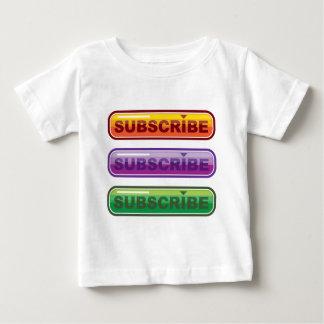 Subscribe button Vector Baby T-Shirt