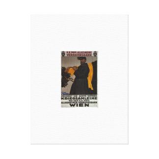 Subscribe to the 8th_Propaganda Poster Canvas Print