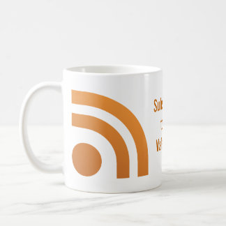 Subscribed Your Valentines Heart Dot Mug