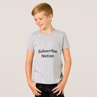 Subscriber Nation T-Shirt