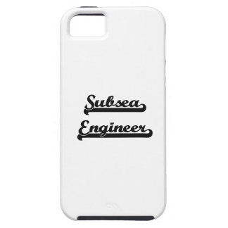 Subsea Engineer Classic Job Design iPhone 5 Covers
