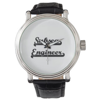 Subsea Engineer Classic Job Design Wrist Watches