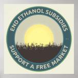 Subsidios del etanol del extremo impresiones