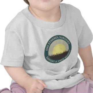Subsidios del etanol del extremo camisetas