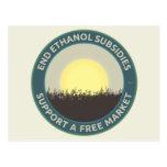 Subsidios del etanol del extremo postales