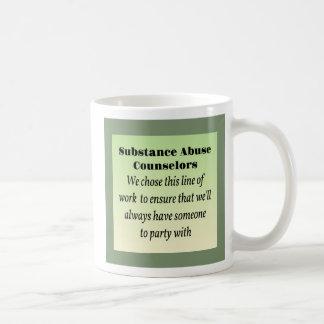 Substance Abuse Counselors Coffee Mug
