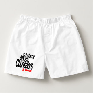 Substance Abuse Counselors Do It Better Boxers