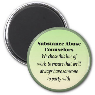 Substance Abuse Counselors Refrigerator Magnets
