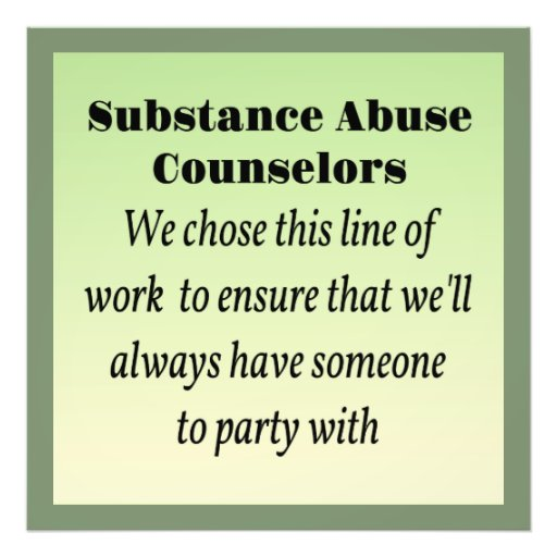 substance sbuse counselors essay Full file at chapter 6: treatment settings and treatment planning.