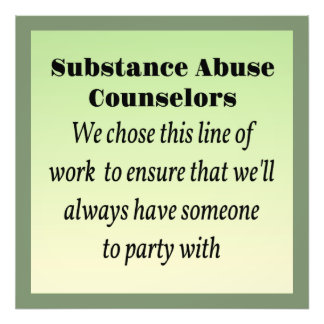 Substance Abuse Counselors Photo Print