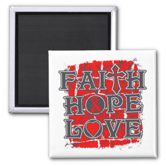 Substance Abuse Faith Hope Love Refrigerator Magnets