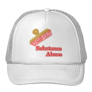 Substance Abuse Mesh Hat
