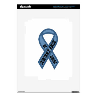 Substance Abuse iPad 3 Decals