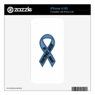 Substance Abuse iPhone 4S Decal