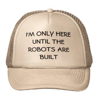 ¿Substituido por los robots? Gorras