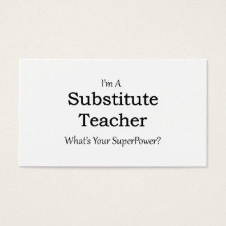 Favorite Teacher Business Cards Templates Zazzle - Substitute teacher business card template
