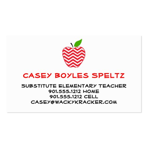 Substitute business cards templates free 28 images substitute gallery of substitute business cards templates free wajeb Images
