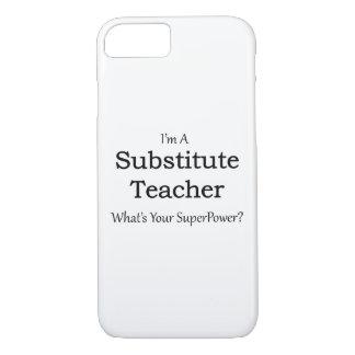 substitute Teacher iPhone 7 Case