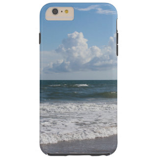 Substituya mi foto hermosa de la playa y utilice funda resistente iPhone 6 plus