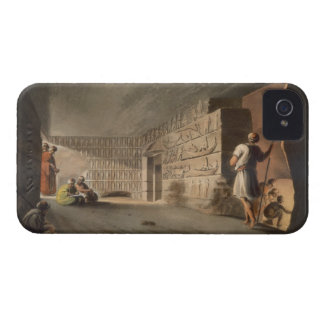 Subterranean Chamber near the Pyramids at Geeza, p iPhone 4 Case-Mate Cases