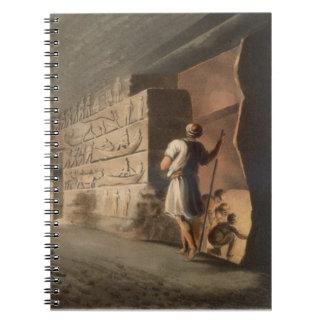 Subterranean Chamber near the Pyramids at Geeza, p Note Books